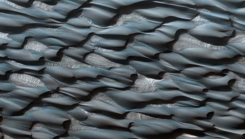 Mars Landscape Abalos Dunes