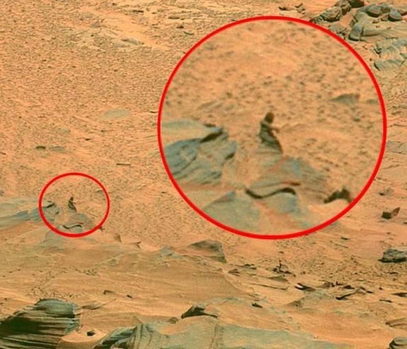 Mars Landscape Big Foot