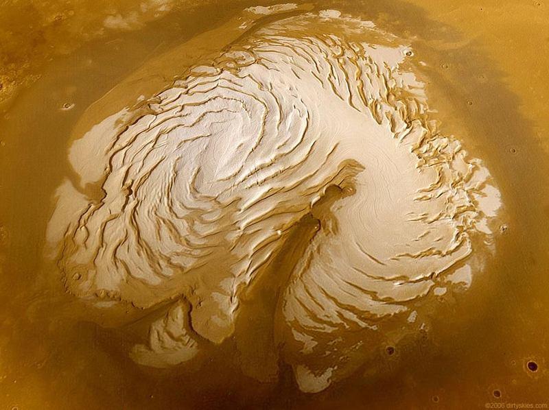 Mars Landscape North Cap