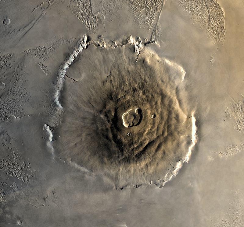 Mars Landscape Olympus Mons