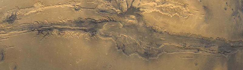 Mars Landscape Valles Marineris