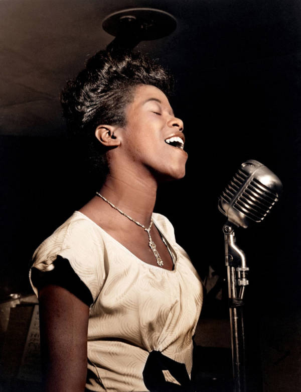 Sarah Vaughan Color