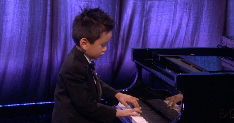 Talented Kids Ryan Wang Playing Piano