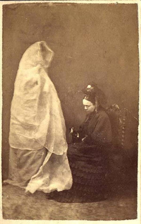 Woman And Deceased Daughter