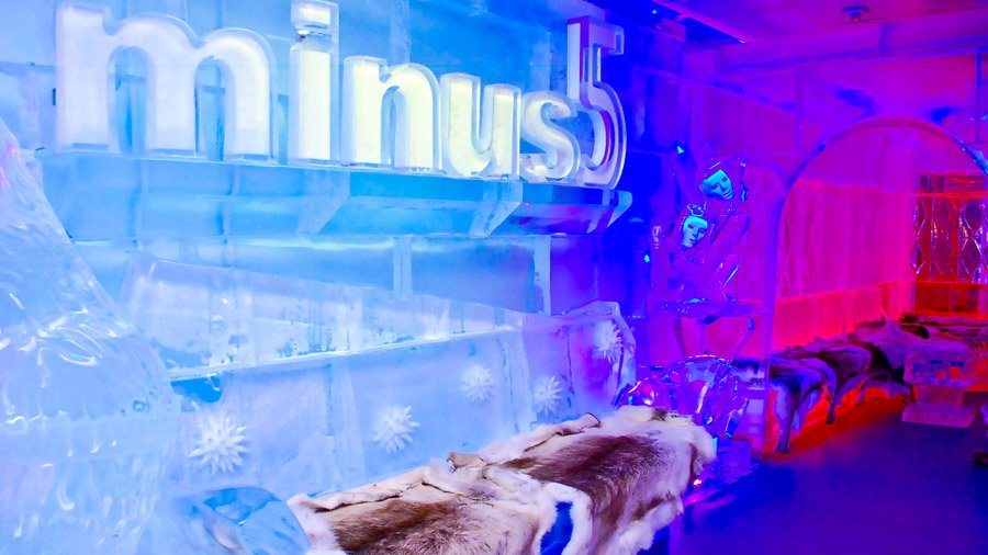 Ice Bars Vegas Minus 5