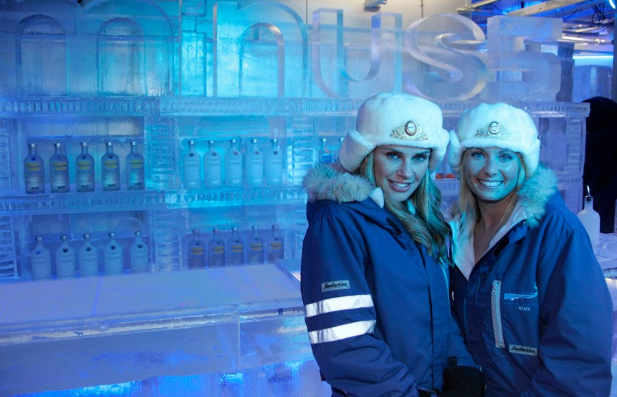 Ice Bars Vegas Show Girls