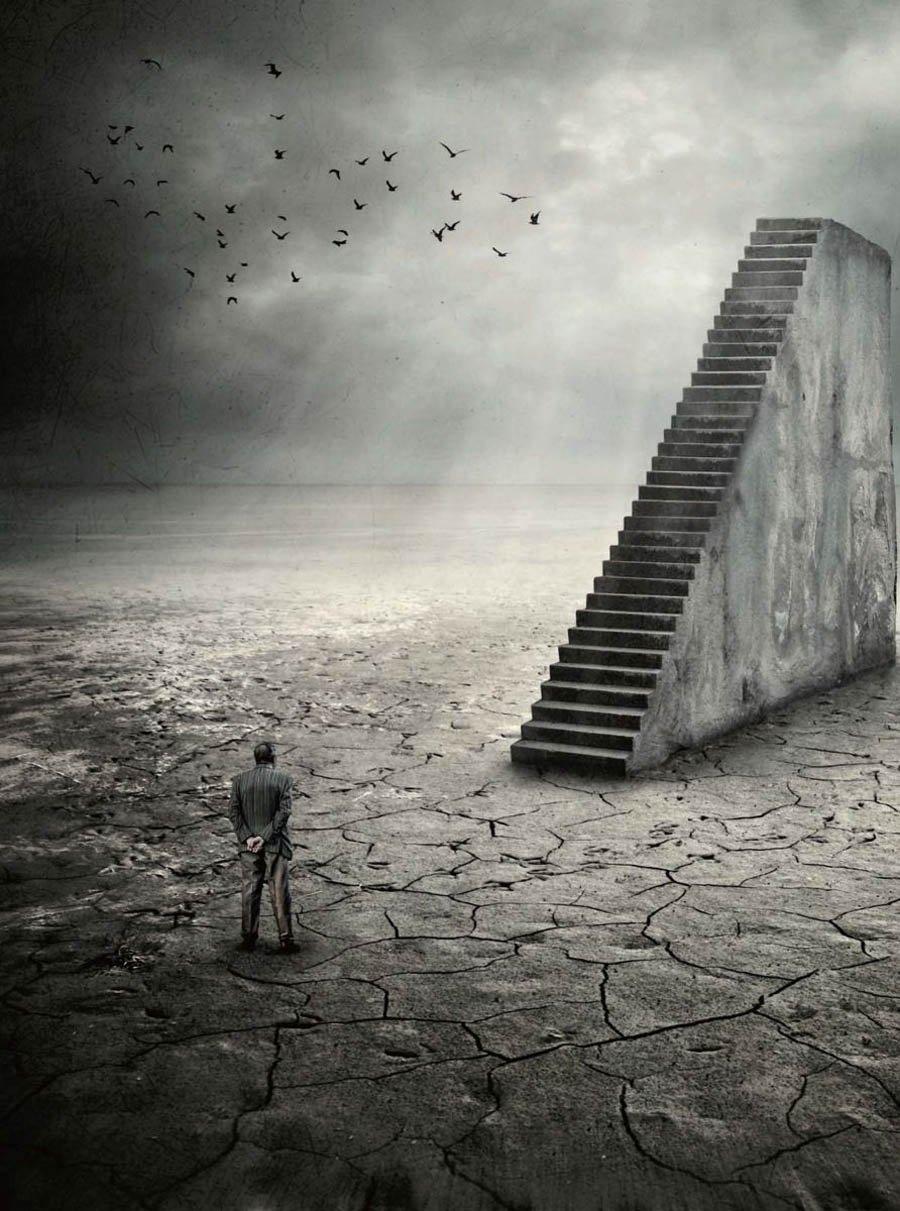 Desert Stairway