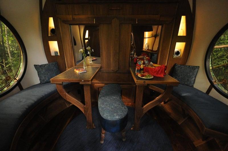 Free Spirit Spheres Dining Room