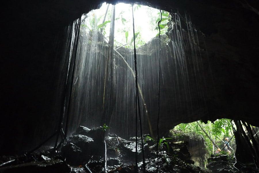 Rio Secreto Hole
