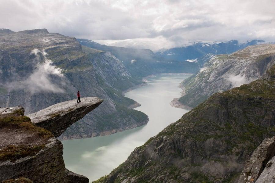 Unbelievable Places Trolltunga Cliff