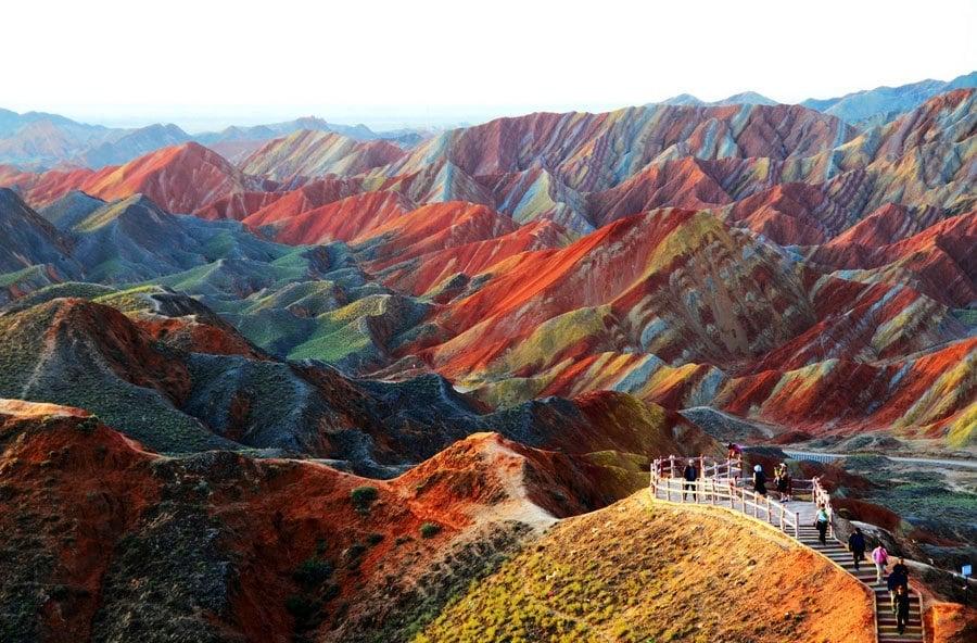Unbelievable Places Zhangye Danxia