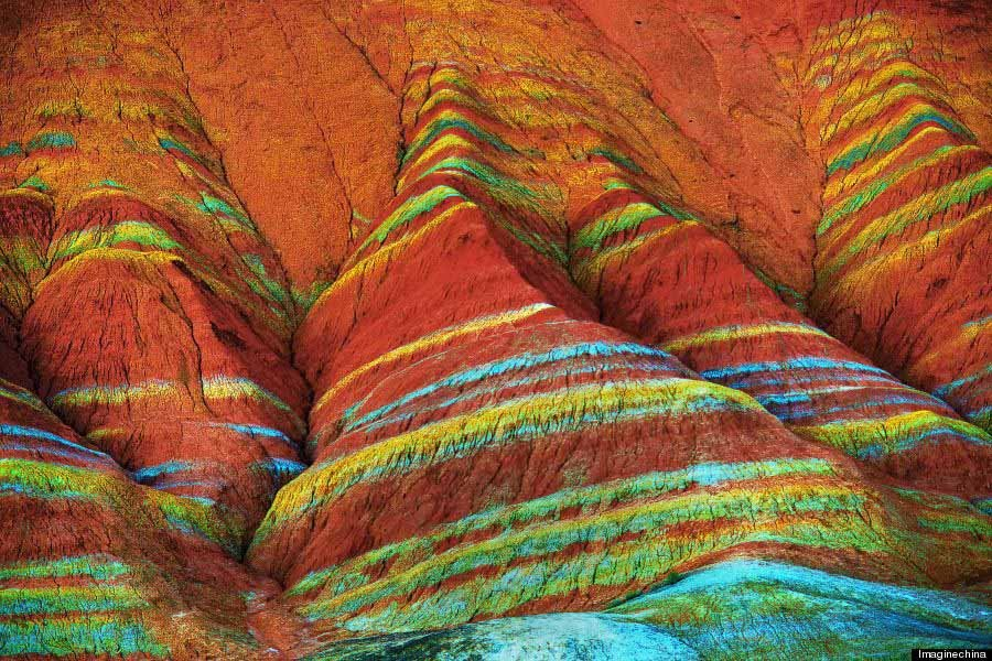 Zhangye Close Up