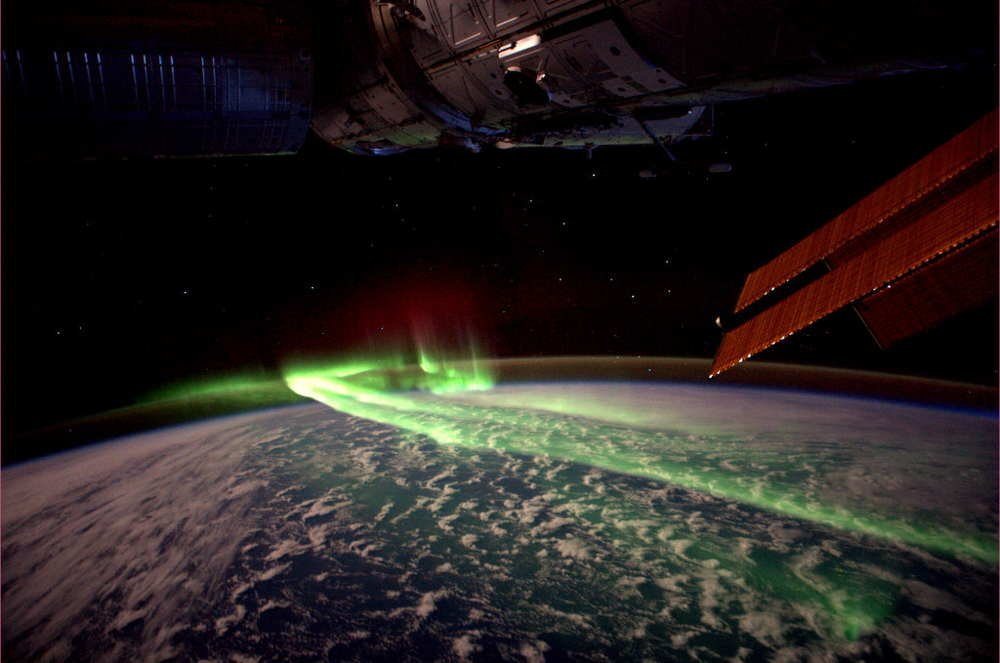 Andre Kuipers Picture Of The Southern Lights