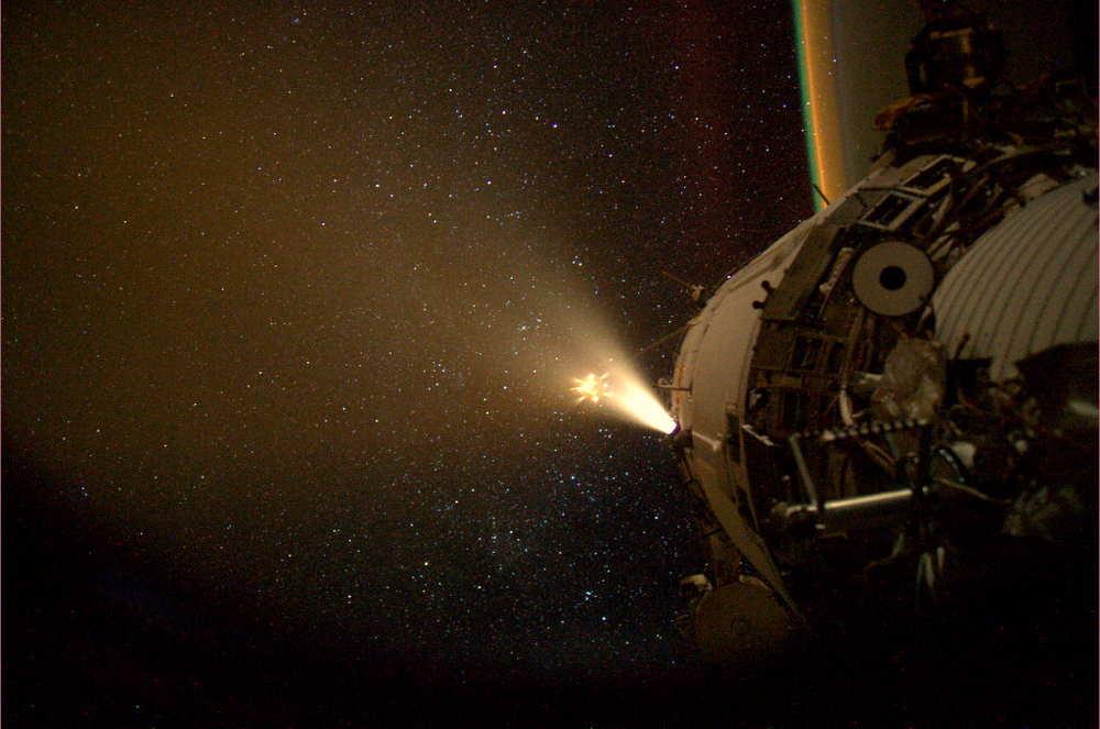 ATV Docked ISS