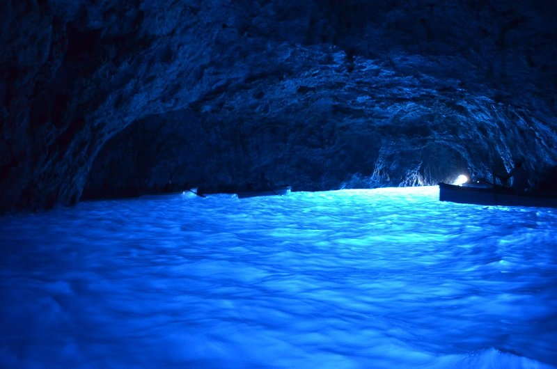 Blue Grotto Of Capri