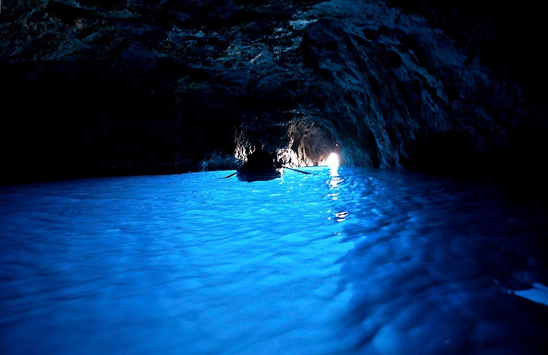 Blue Grotto Opening View