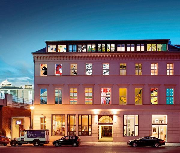 Coolest Hotel Arte Luise Kunsthotel Exterior