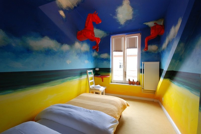 Room in Coolest Hotel Arte Luise Kunsthotel