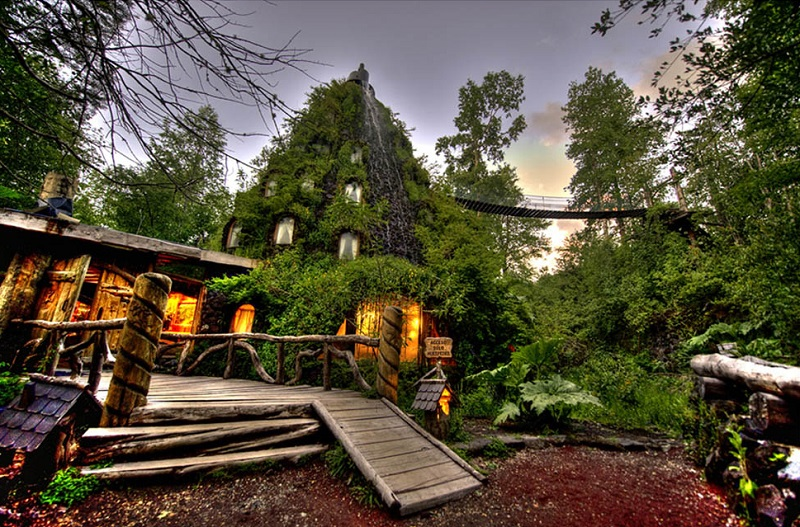 Coolest Hotel Montana Magica Lodge in Chile