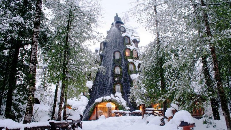 Coolest Hotel in Chilean Winter