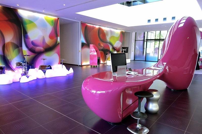 Interior of Coolest Hotel in Berlin