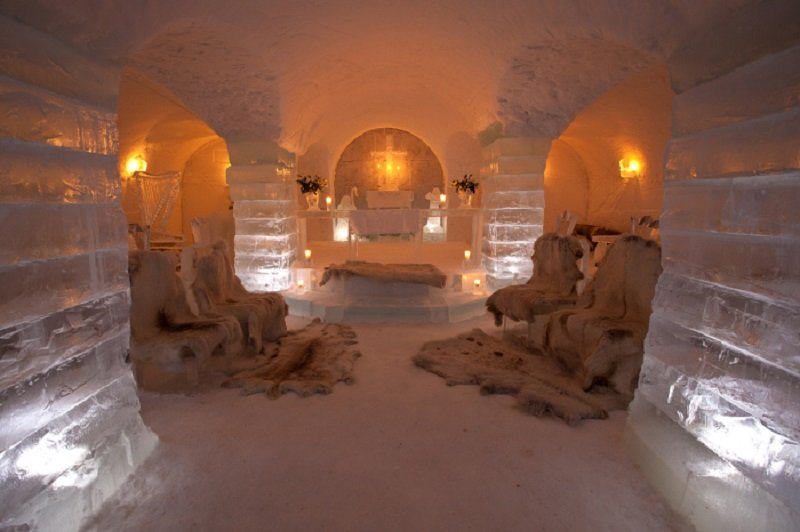 Bridal Suite in Sorrisniva Igloo Hotel
