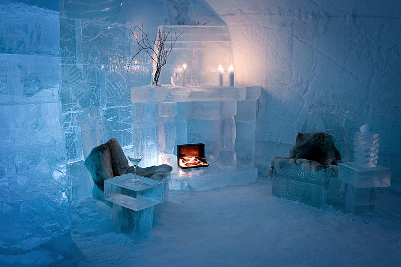 Coolest Hotel Room in Norway