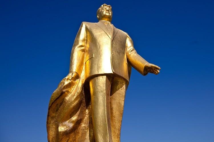 Craziest Dictators Turkmenbashi