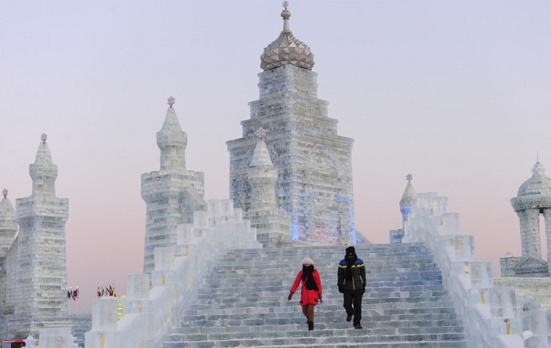 Harbin Festival Incredible Ice Sculptures