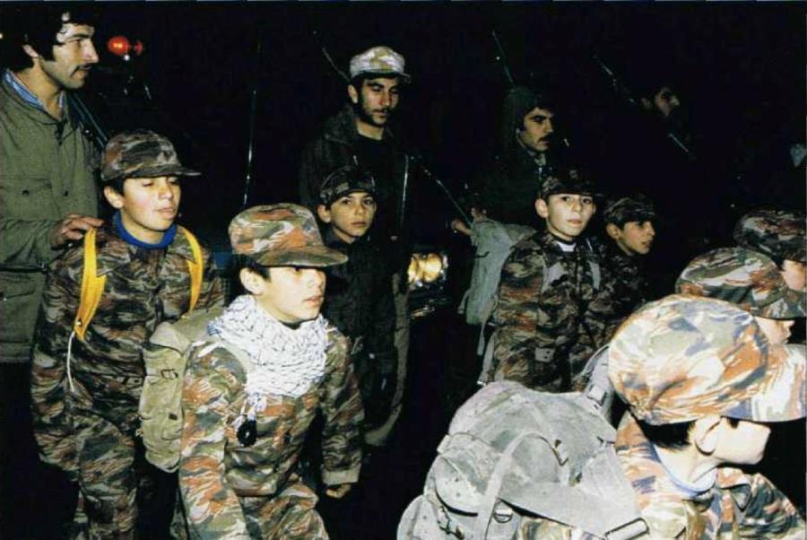 Iranian Child Soldiers Iran Iraq War