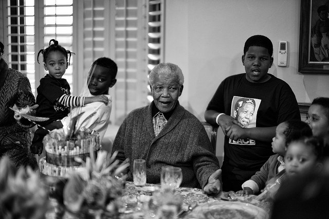 Mandela Last Photos Family