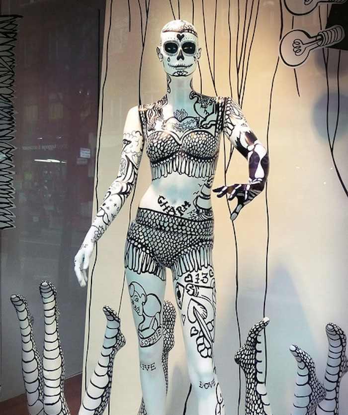 Mannequin Art Selfridges