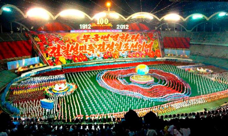 Mass Games 2012 Finale