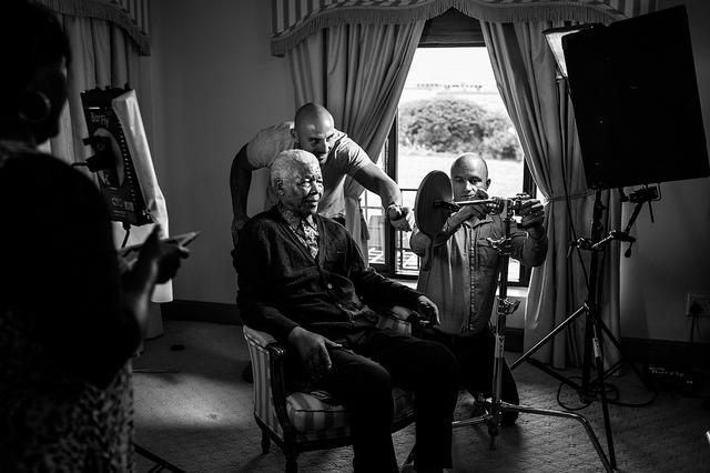 Nelson Mandela Last Photos Prep