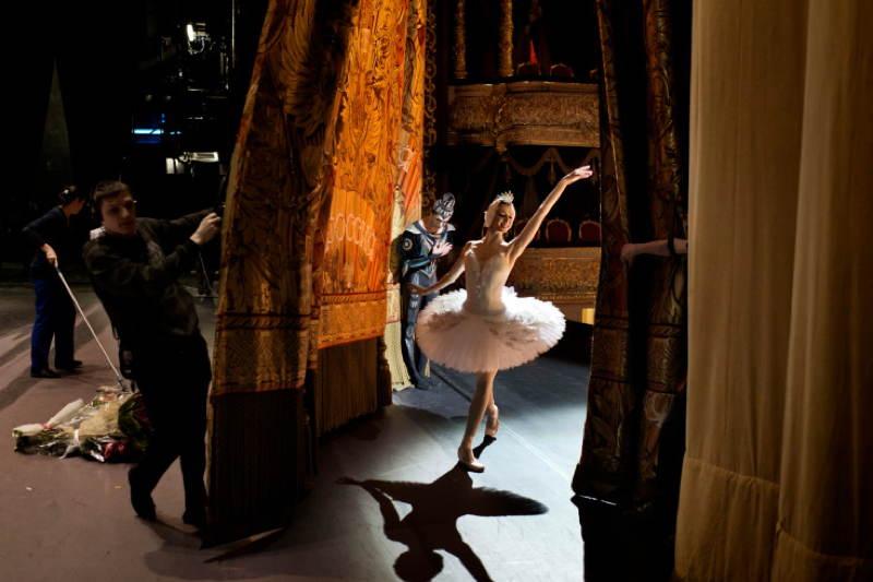 Photojournalism Ballerina
