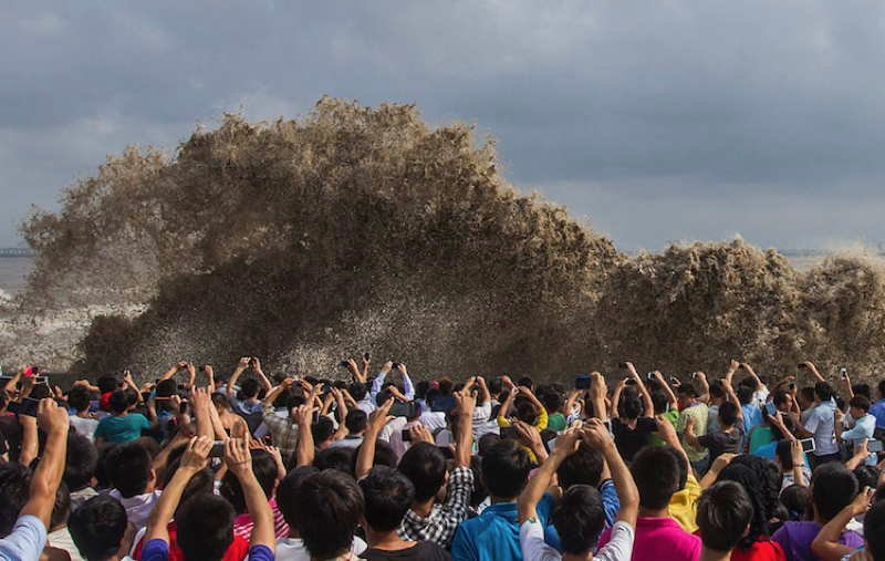 Photos Of 2013 Tidal Waves