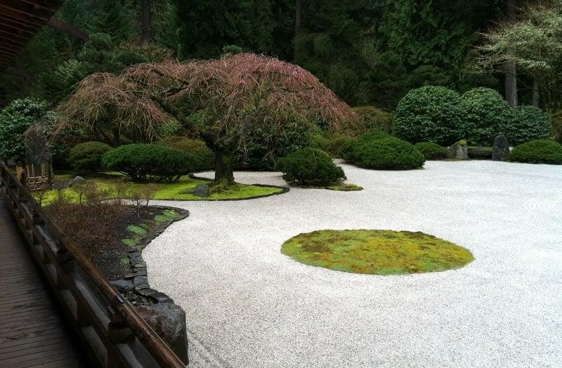 Portland's Japanese Gardens Sand Garden
