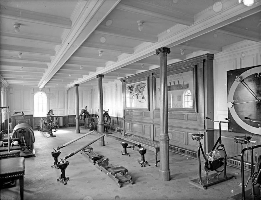 Gym On The Titanic