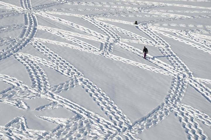 Snow Patterns Process