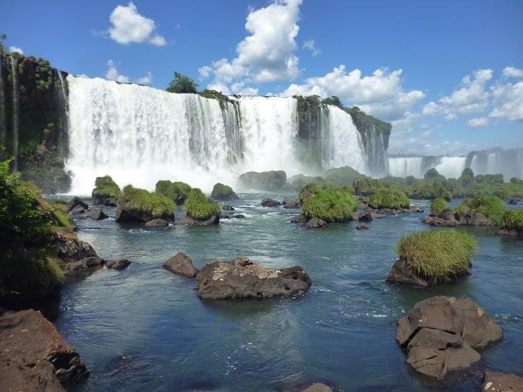 Spectacular Iguazu Waterfalls