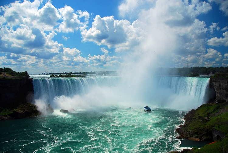 Beautiful Waterfalls Niagara Falls