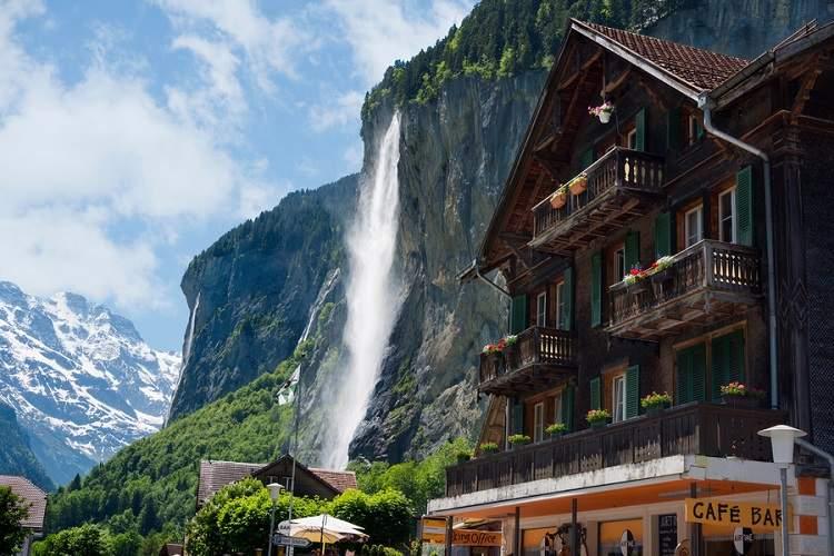 Spectacular Waterfalls Staubbach