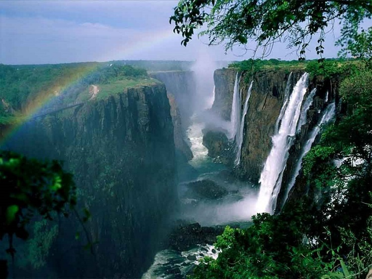 Spectacular Waterfalls Victoria Rainbow