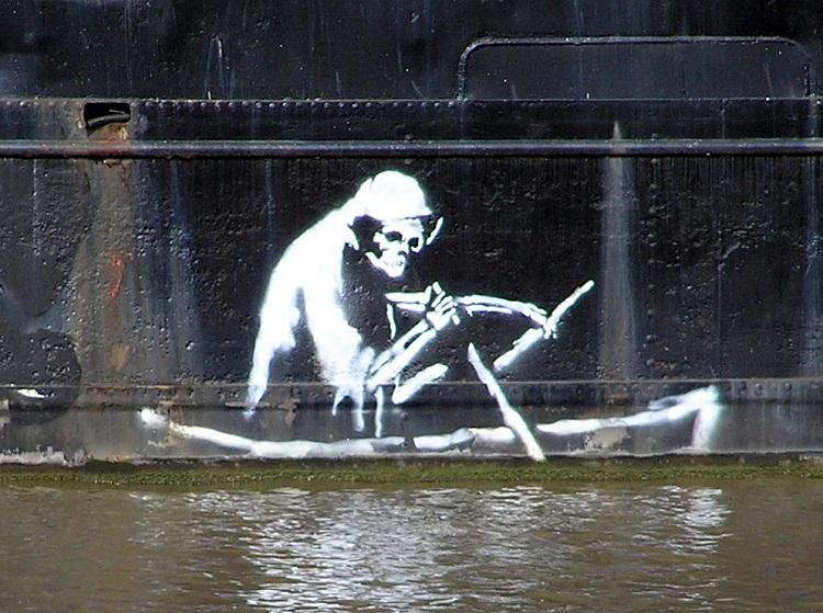 Banksy Death Boat