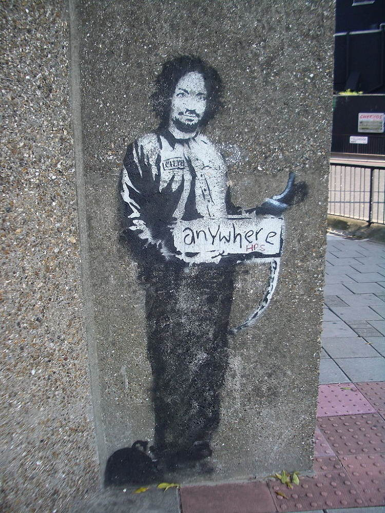 Street Artists Banksy Manson
