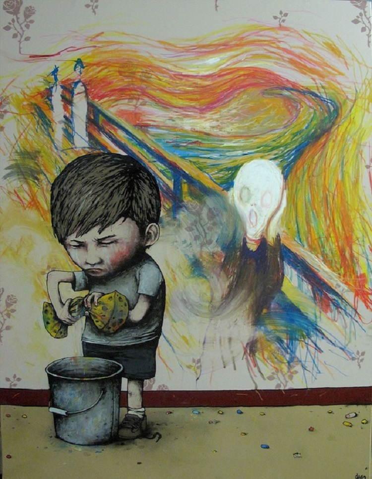 Street Artists Dran Scream