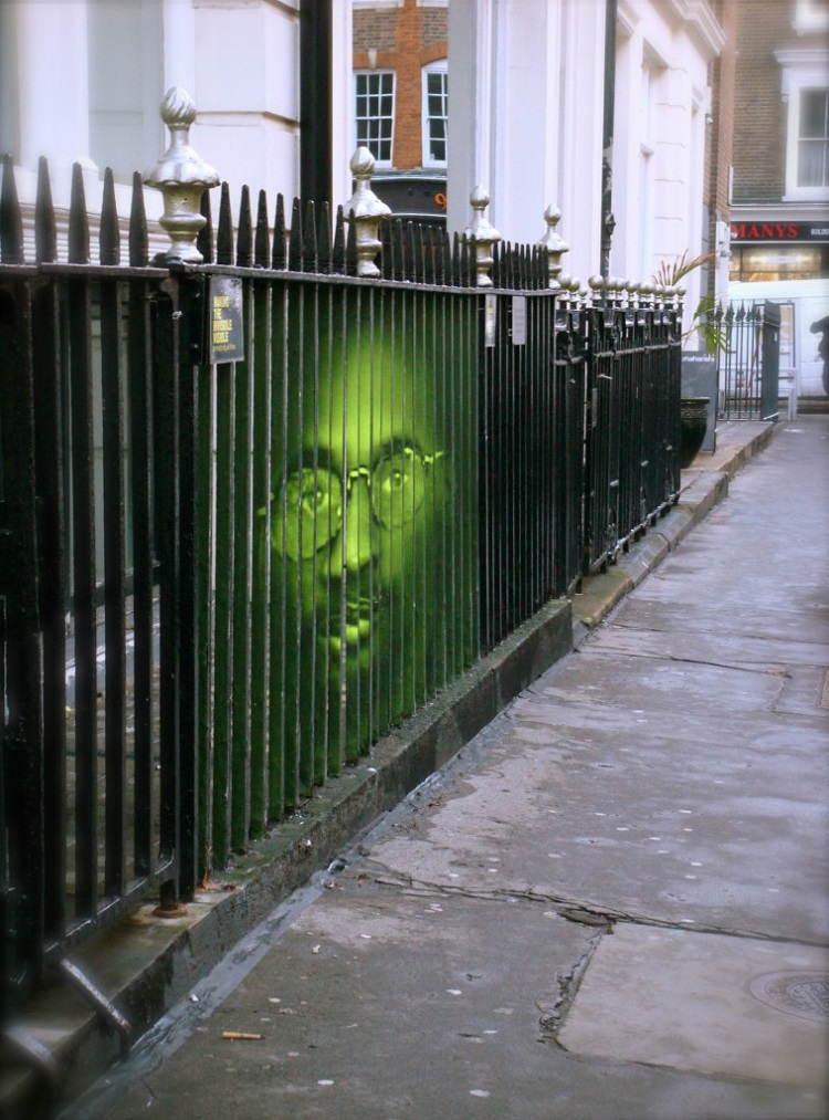 Street Artists Mentalgassi Fence