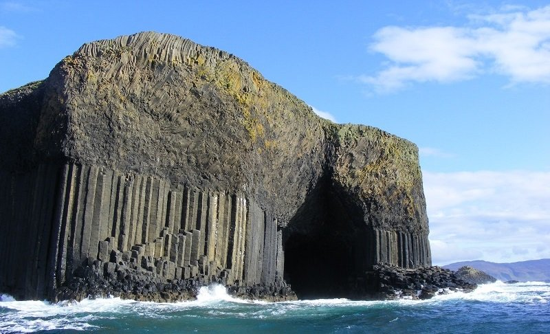 Fingal's Cave in Scotland