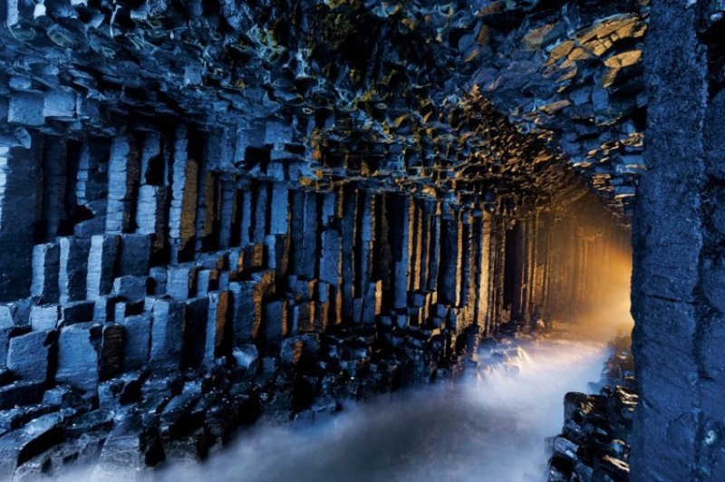 Surreal Places Fingal's Cave