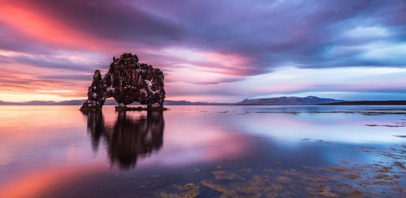 Hvitserkur Rock in Ireland